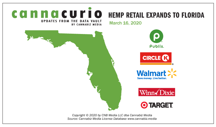 Cannacurio: Hemp Retail Expands to Florida