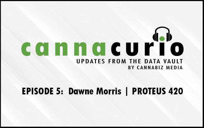 Cannacurio Podcast Episode 5 with Dawne Morris of PROTEUS 420