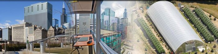 chicago office and greenhouse image picture bar