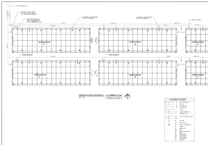 sample greenhouse plumbing plans