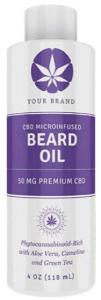 CannaGlobe CBD Hemp Beard Oil