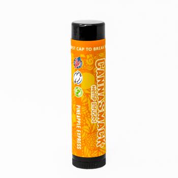CannaSmack Pineapple Express Natural Hemp Lip Balm