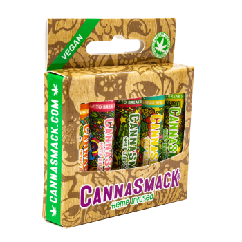 CannaSmack Vegan Hemp Lip Balm Collection Pack