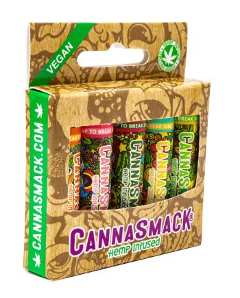 CannaSmack Vegan Hemp Lip Balm Collection Pack