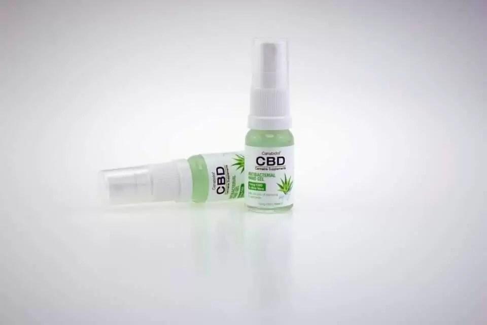 CBD hand sanitiser
