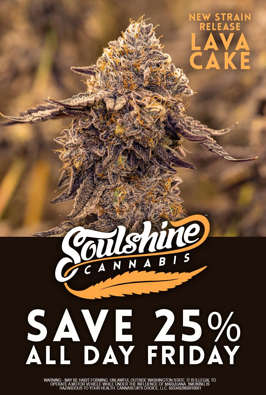 soulshine cannabis sale