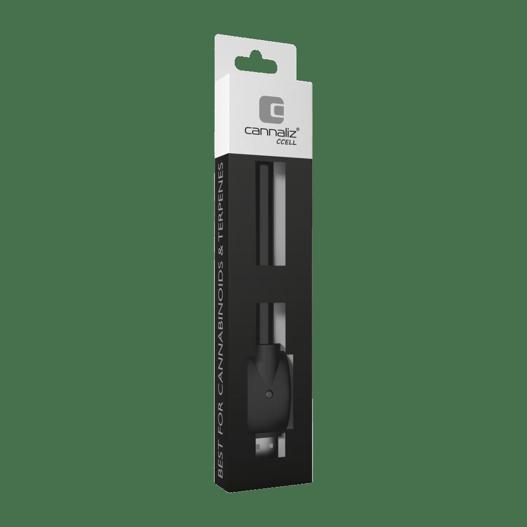 Cannaliz_CBD_E-Cigarette_Vape-Pen_BatteryChargerCCELL_front_2018.10_sq