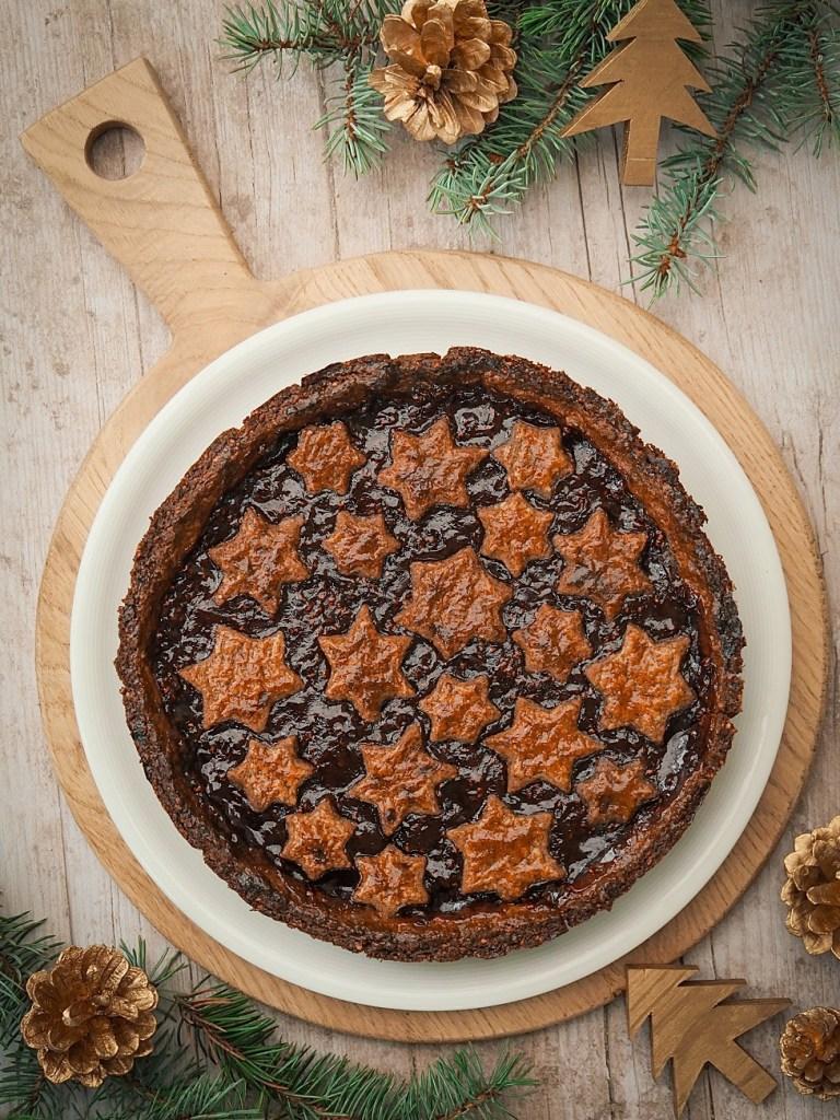 Linzer torte décoration Noël