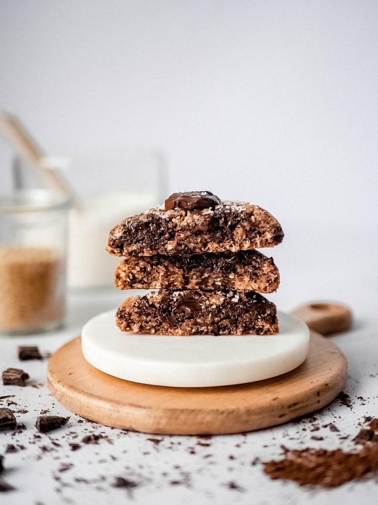 Cookies et ingrédients