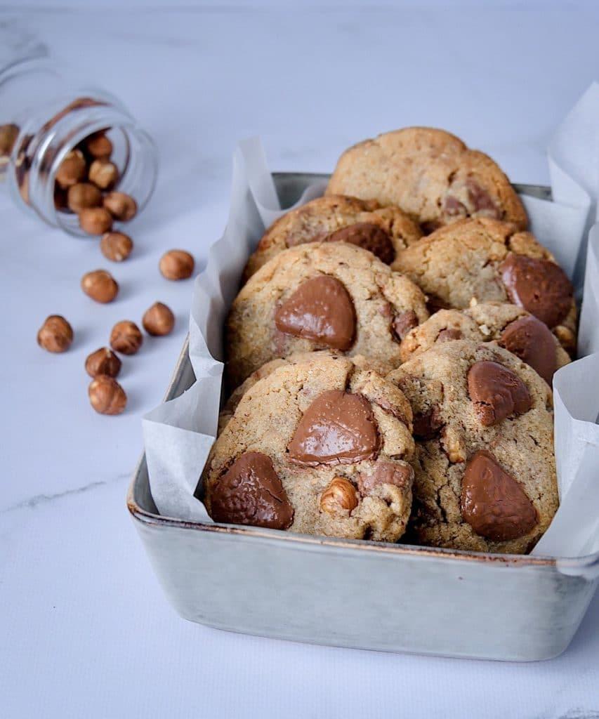 Gros cookies croustillants et moelleux