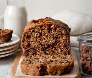 gâteau à la courgette et pépites de chocolat