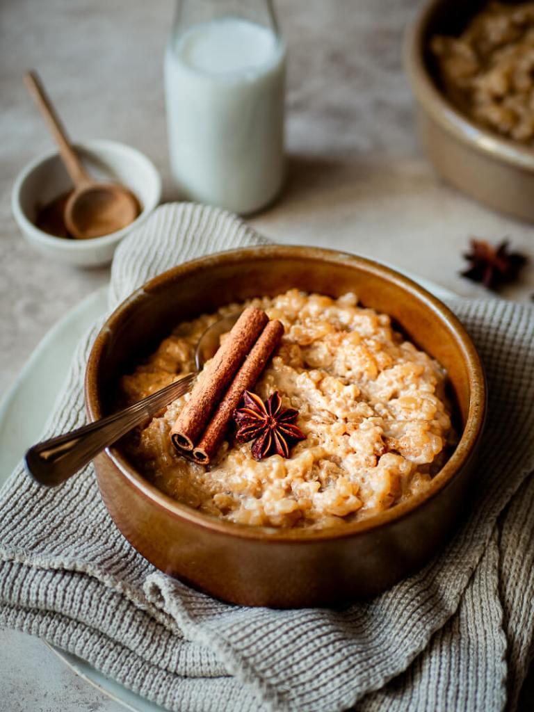 riz au lait épices chai
