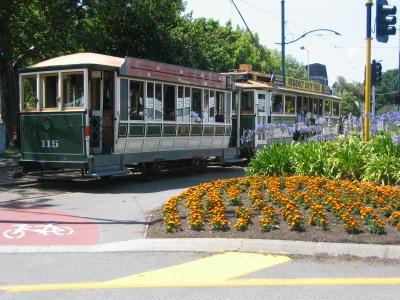 Christchurch City Tour Tram Car