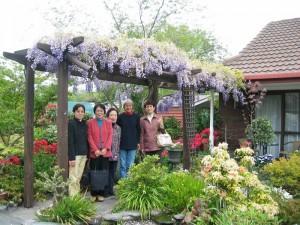Christchurch garden tour in springtime