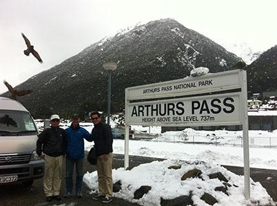 Arthurs Pass Railway Station