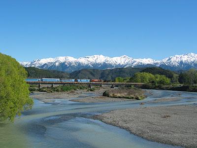 Tranz Alpine Train day tour
