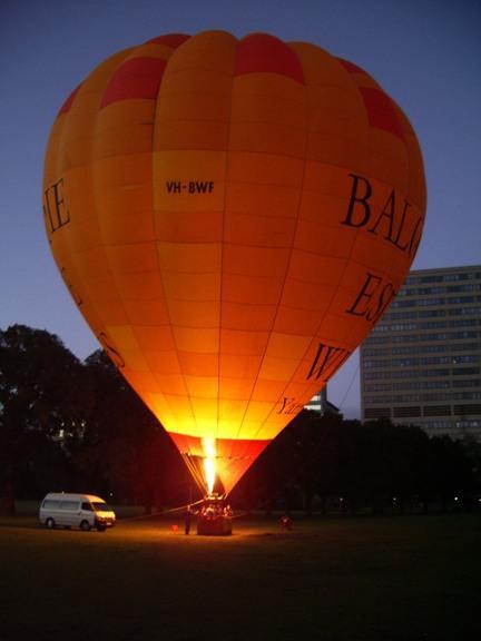 Balloon Estate Balloon - Over Melbourne
