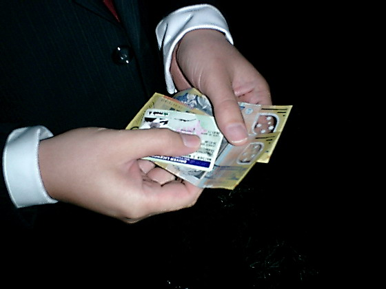 The Groom to be with Money