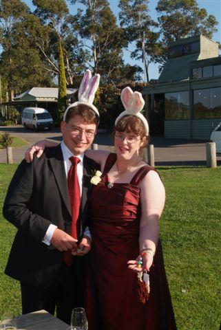 It was Easter Saturday - So We Had Bunnies