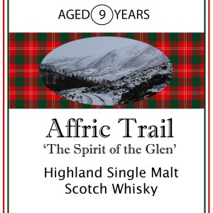 Affric Trail single Highland Malt Whisky