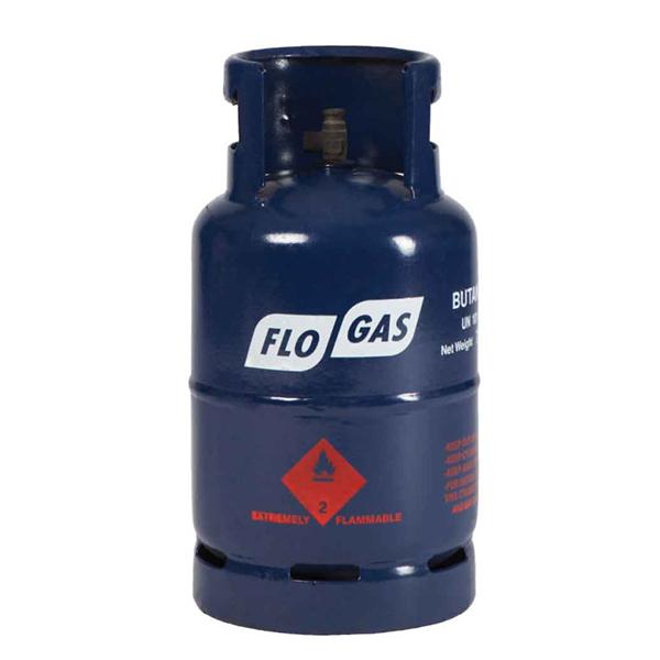 7kg Butane Flogas gas cylinders - 20mm Regulator