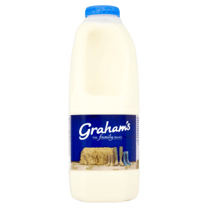 Cannich Stores - Grahams Whole Milk 1L