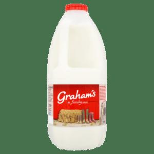 Cannich Stores - Grahams Skimmed Milk 2L