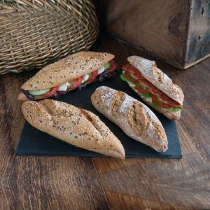 Cannich Stores : Multi Grain Half Baguette