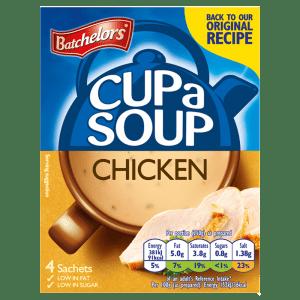 Batchelors Cup a Soup Chicken 4 Sachets 81g