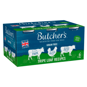 Butchers Tripe Loaf Recipes Dog Food Tins 6 x 400g