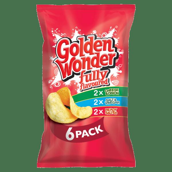 Golden Wonder Variety 6 x 25g