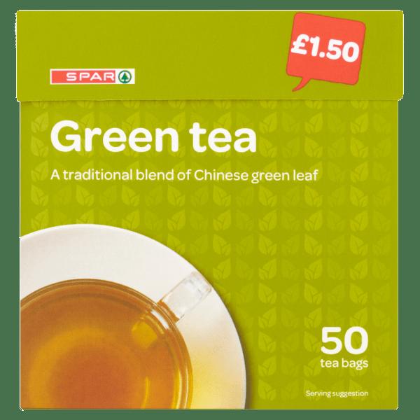 Cannich Stores : Spar Green Tea