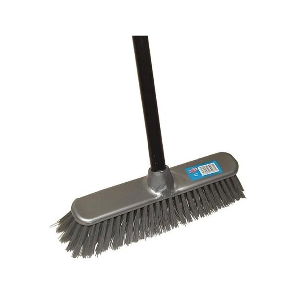 Hard Broom with Handle