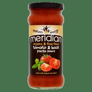 Meridian Organic & Free From Tomato & Basil Pasta Sauce 350g