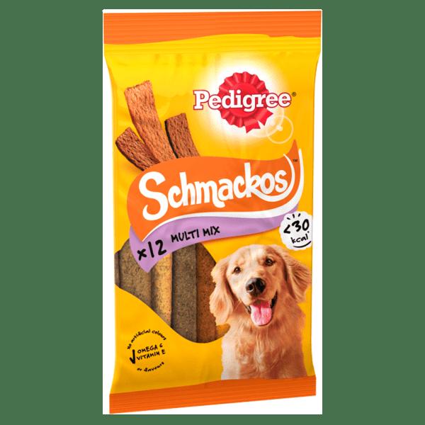 Pedigree Schmackos Dog Treats Multi 12 Stick