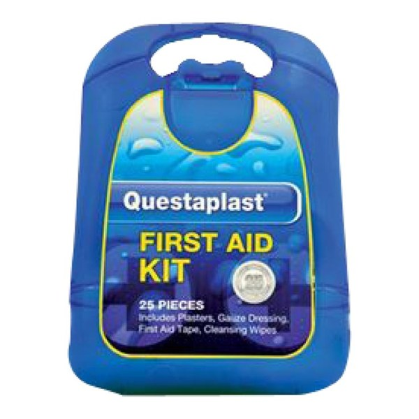 Questaplast 25 Piece First Aid Kit