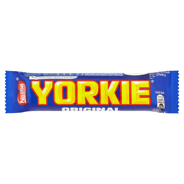 Yorkie Milk Chocolate Bar 46g