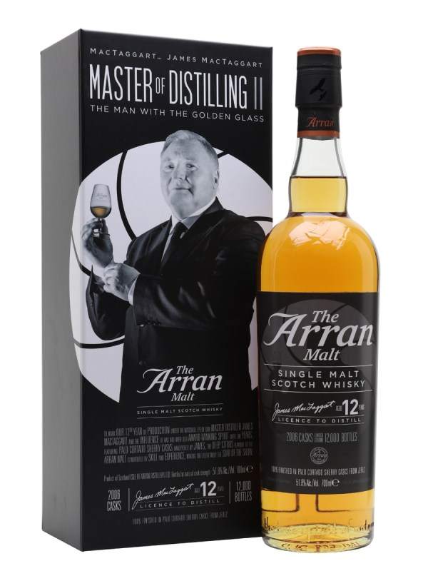 Arran 12yo (The Man with the Golden Glass)