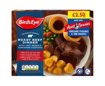 Birds Eye Roast Beef Dinner