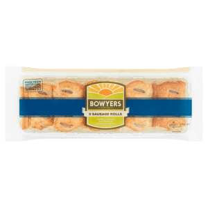 Bowyers 5 Sausage Rolls 225g