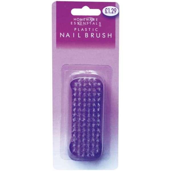 Homeware Essentials Plastic Nail Brush
