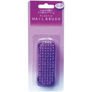 Homeware Essentials Plastic Nail Brush