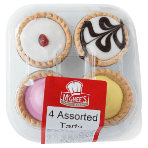 McGhee's Family Bakers 4 Assorted Tarts