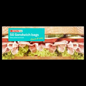 Spar 50 Sandwich Bags