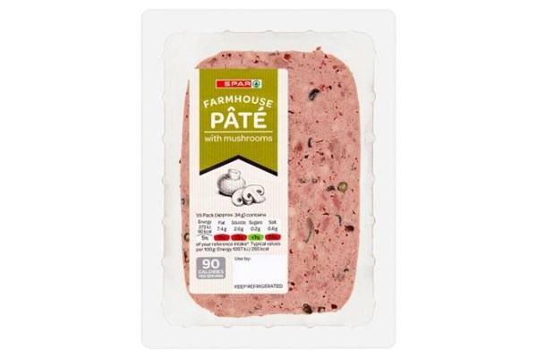 Spar Farmhouse Pate with Mushrooms 170g