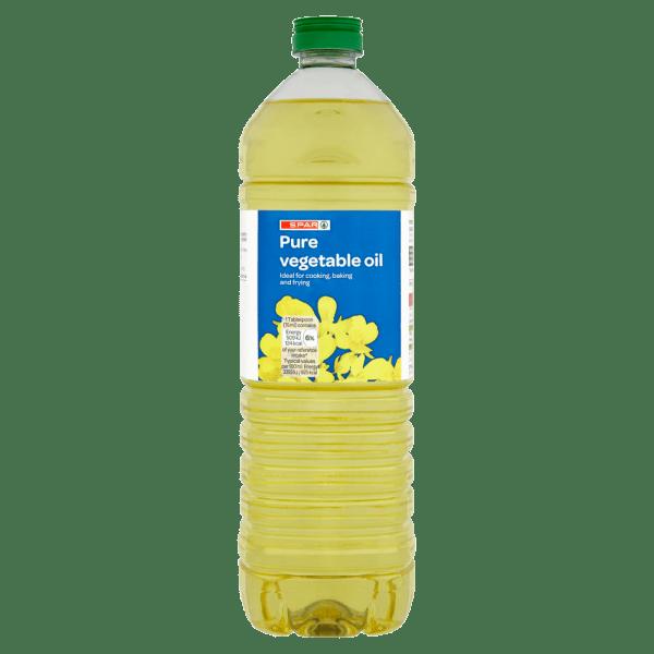 Spar Pure Vegetable Oil 1 Litre