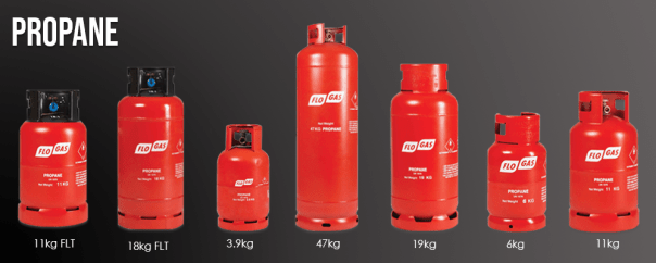 Flogas Propane cylinders