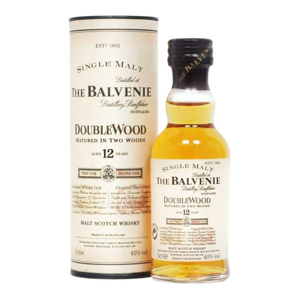 The Balvenie Doublewood 12 Year Old - 5cl