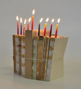 book menorah