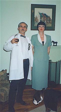 Murder Mystery dinner, 'The Watersdown Affair', June 2001